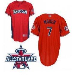 Joe Mauer 2010 All-Star Jersey #MT005