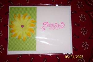 Summer Thank You Card
