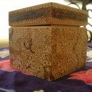 Handmade Wooden Jewelry Box with Custom Art