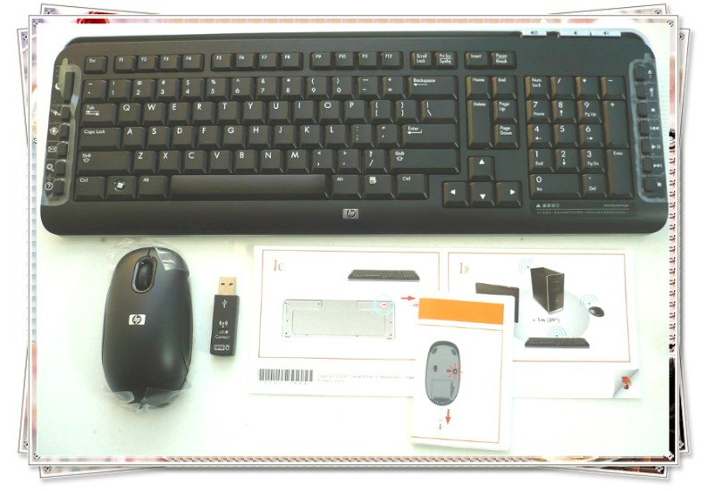 Original New Hp 5189urf 2 4ghz Pc Wireless Keyboard