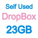 DropBox 23G Storage Backup Cloud Driver- no monthly cost + last forever