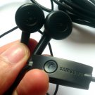 Lot of 10 Original / Genuine 3.5mm Handsfree Stereo Headset Earphone For Samsung I9100 S5830 Black