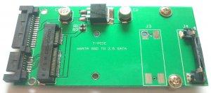 "70mm 2.5"" SATA 22Pin convert Adapter ASUS Eee PC S101 903 MSATA MINI PCI-E SSD"