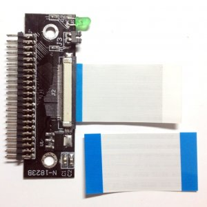 """1.8"""" CE ZIF HDD convert to 44pin 2.5'' IDE Adapter for Hitachi TOSHIBA Laptop"""