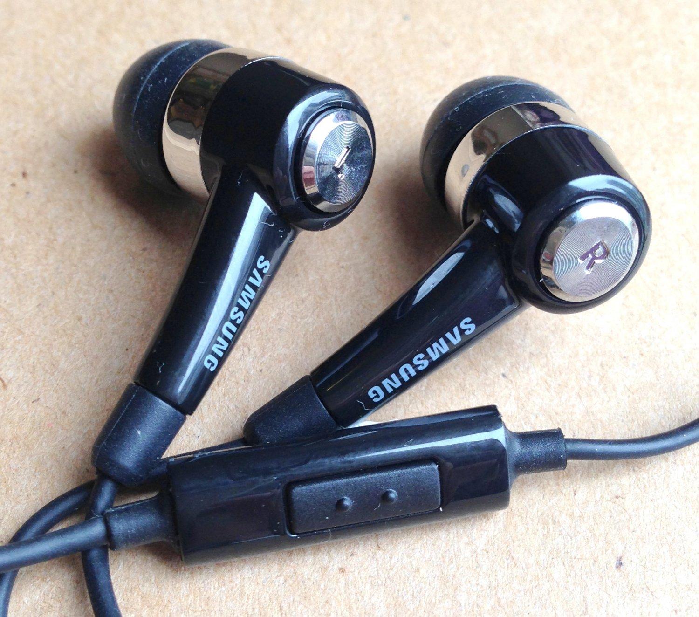 Original SamSung Black In-Ear Handsfree Earphone for Galaxy S2 P1000 N7100 UW