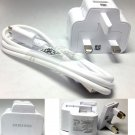Genuine Original Samsung UK 2A Charger Adapter+USB Cable Galaxy Note 2 II N7100
