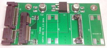 "Card slot 50mm Mini PCI-E mSATA SSD convert to 2.5"" 3.5"" SATA adapter converter"