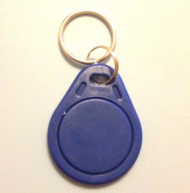 UID changeable rewritable Mifare classic 1k NFC tag blue keyring rewrite tags