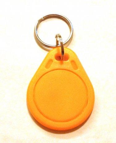 UID changeable rewritable Mifare classic 1k NFC tag orange keyring rewrite tags