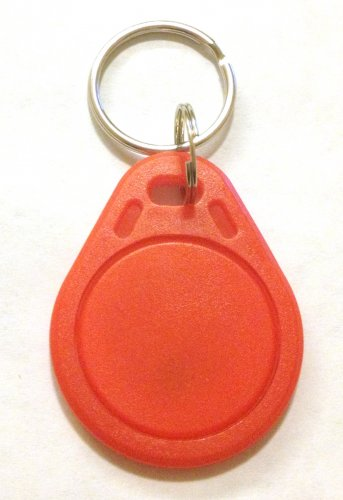 UID changeable rewritable Mifare classic 1k NFC tag red keyring rewrite tags