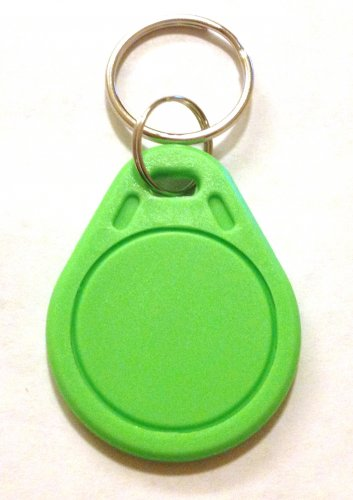 UID changeable rewritable Mifare classic 1k NFC tag green keyring rewrite tags