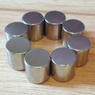 "8 pcs N52 cylinder 10x10mm Neodymium Permanent Magnets Craft 2/5""*2/5"""
