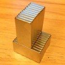 20pcs N52 block 20mm*10mm*2mm Neodymium permanent Magnets craft