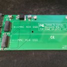 Dual MacBook Air SSD Card slots to SATA converter 3.3V Regulator included