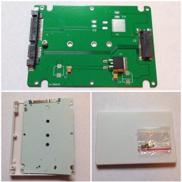 M.2 NGFF SSD to SATA 2.5 3 Adapter Converter Enclosure E431 E531 X240S Y410P