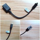 Original Genuine Sony EC310 Micro USB to USB Adapter OTG Cable for Xperia Z Z1