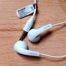 Original Sony Stereo Headset MH410c Handsfree Earphone for Xperia Z1 Z2 Z3 white