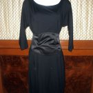 CATHERINE MALANDRINO Black Dress Size 4 US