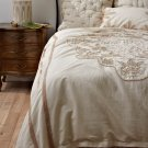 Anthropologie Cabarita King Duvet Cover Linen Cotton NWT It's Gorgeous! Comforter Bedspread