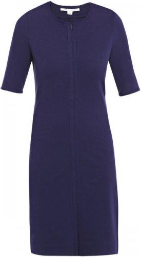 10 Diane von Furstenberg Saturn Shift Dress $395 Navy Blue NWT 10 12