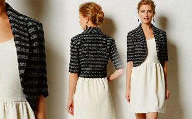 S Anthropologie Dotted Line Topper Small 2 4 Black Elevenses