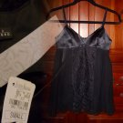 Embellished Camisole Top Small 2 4 Black Neiman Marcus Maria Bianca Nero