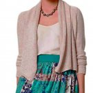 Anthropologie Sequin Flurry Cardigan Large 10 12 Pearl Sweater Knitted & Knotted Shimmer