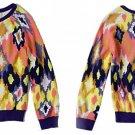 Anthropologie Flickered Ikat Cardigan Medium Cardi Tracy Reese NWT 6 8