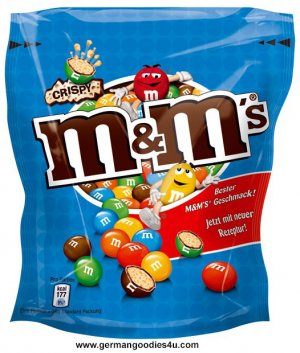M&M's Crispy 170g M&M rice crisps FRESH from Germany