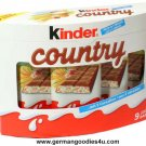 Ferrero Kinder Country Schokolade 207g  - The Original from Germany