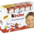 Ferrero Kinder Schokolade 24 pc / 300g - Chocolate - FRESH from Germany
