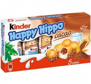 Ferrero Kinder Happy Hippo Cacao - 103.5 g - FRESH from Germany