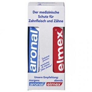 ARONAL + ELMEX Set - medical protection - gingiva + teeth - FRESH from Germany