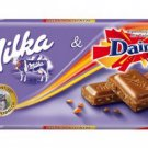 MILKA Chocolate Bar 100g - MILKA & DAIM - FRESH from Germany
