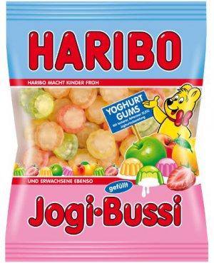 HARIBO ®  - Jogi Bussi    Filled Yogurt Gums - FRESH from Germany