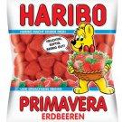 HARIBO ®  -  Primavera Strawberries - Marshmallow Gums - FRESH from Germany