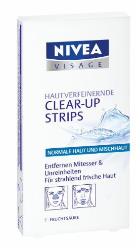 NIVEA Visage Clear-Up Strips - Blackheads - Impurities - FRESH from Germany