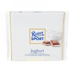 RITTER SPORT Chocolate Bar - Joghurt - 100 g - from Germany- FRESH from Germany