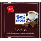 RITTER SPORT Chocolate Bar - Espresso - 100 g - from Germany- FRESH from Germany