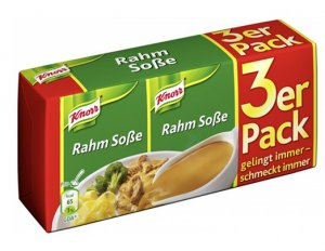 Knorr® Sauce - Knorr®  Rahm So�e / Cream Sauce - 3 x250 ml - FRESH from Germany