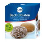Kuechle ® Back Oblaten - Wafer - 90 mm ø - Gingerbread - Macaroons - Xmas