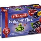 Teekanne Fruechtetee / Fruit Tea - FRECHER FLIRT / CHEEKY FLIRT - 20 tea bags - FRESH from Germany