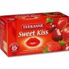 Teekanne Fruechtetee / Fruit Tea - SWEET KISS - 20 tea bags - FRESH from Germany