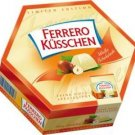 Ferrero Küsschen / Kusschen WHITE - 178g / 20 pc. - FRESH from Germany