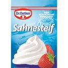 Dr. Oetker Sahne Steif - 5pc. - FRESH from Germany
