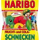 HARIBO ®  - Frucht- und Cola Schnecken - FRESH from Germany