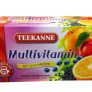 Teekanne Fruechtetee / Fruit Tea - Multivitamin Tee - 20 tea bags - FRESH from Germany