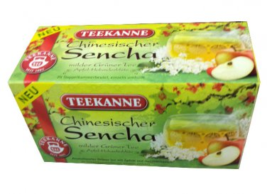 Teekanne Grüner Tee / Green Tea - Chinesischer Sencha - 20 tea bags - FRESH from Germany