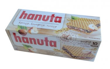 Ferrero Hanuta - Crispy waffles - 10 pc. / 220 g - FRESH from Germany