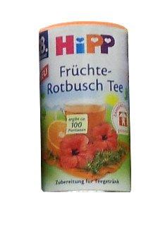 HIPP Früchte Rotbusch Tee - Fruit Rooibos Tea 200g - FRESH from Germany